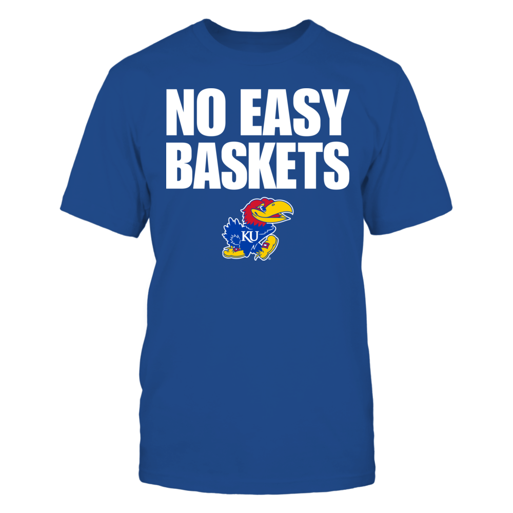 Kansas Jayhawks - No Easy Baskets Front picture