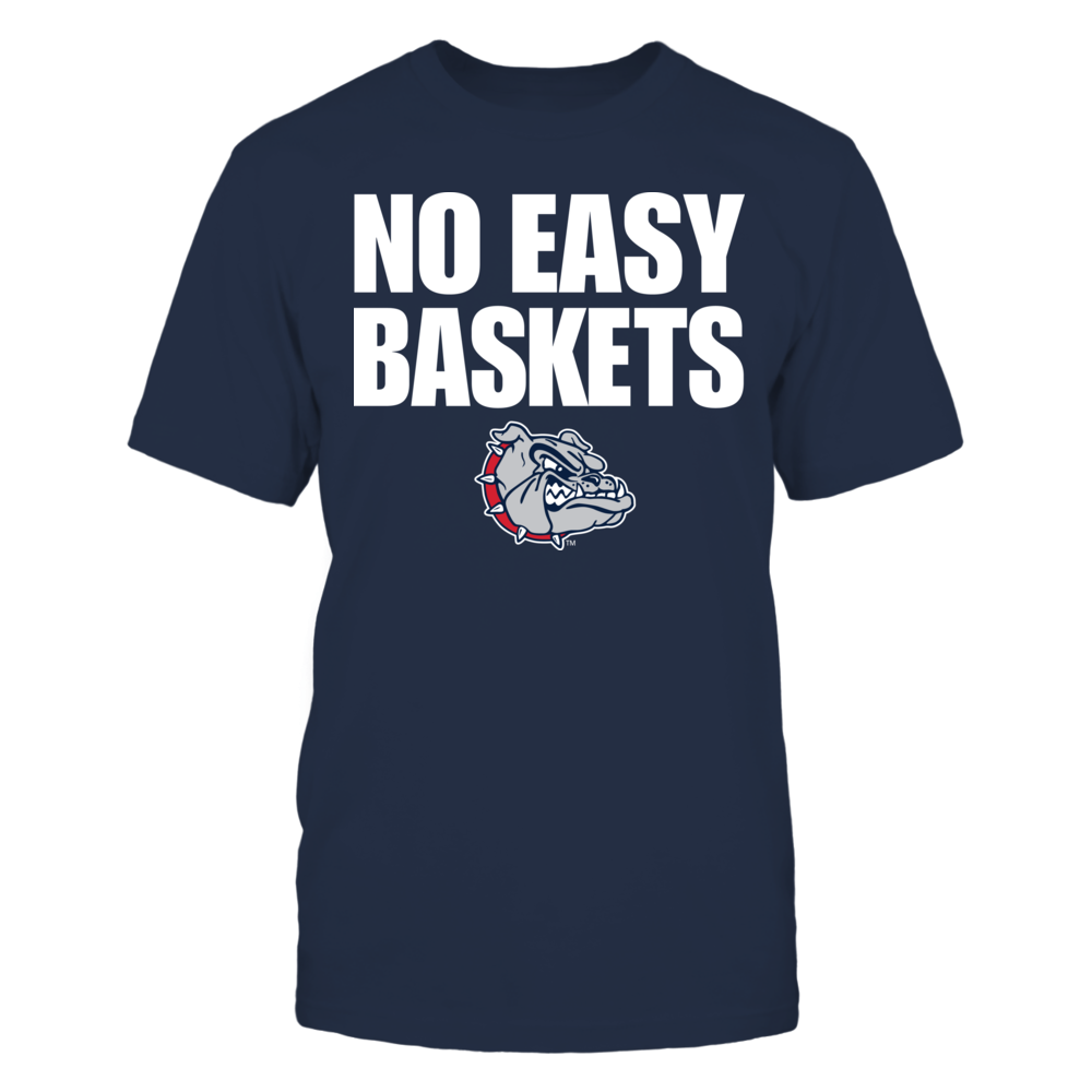 Gonzaga Bulldogs - No Easy Baskets Front picture