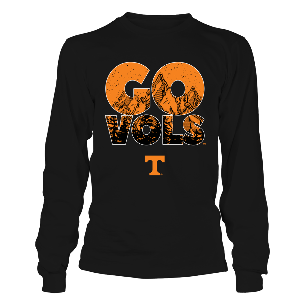Tennessee Volunteers - Mountains Inside Team Slogan Front picture