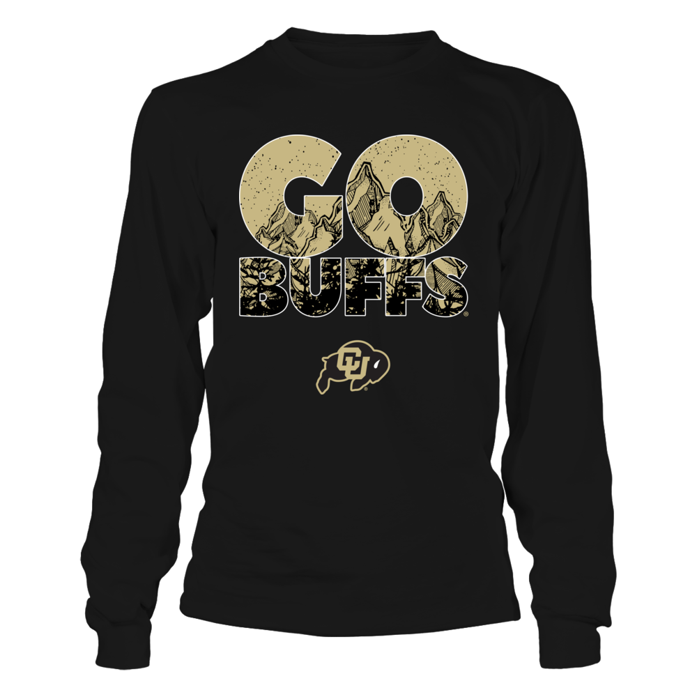 Colorado Buffaloes - Mountains Inside Team Slogan Front picture
