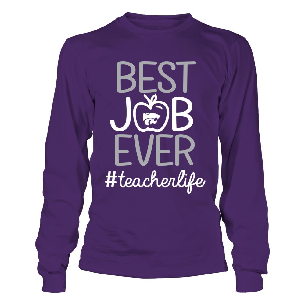 Kansas State Wildcats - Teacher - Best Job Ever Front picture
