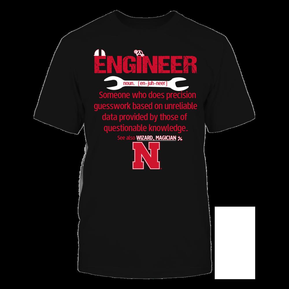 Nebraska Cornhuskers - Engineer Definition Front picture