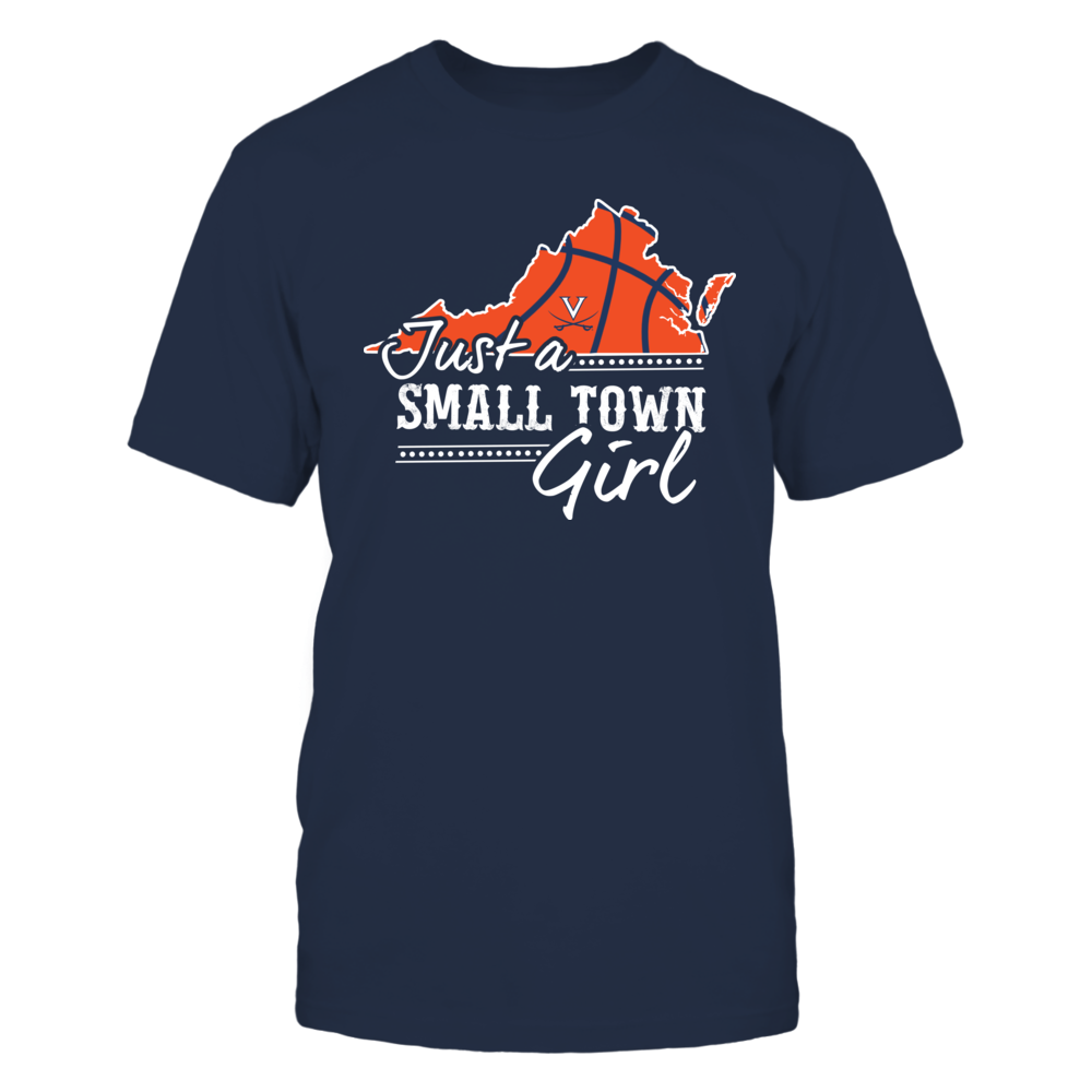 Virginia Cavaliers - Small Town Girl - Basketball Front picture