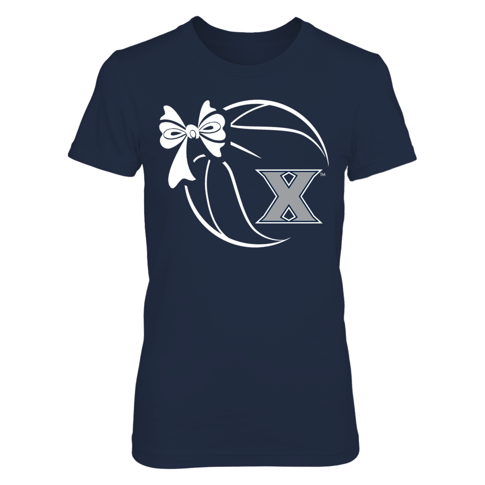 Xavier Musketeers - Basketball Ribbon Front picture