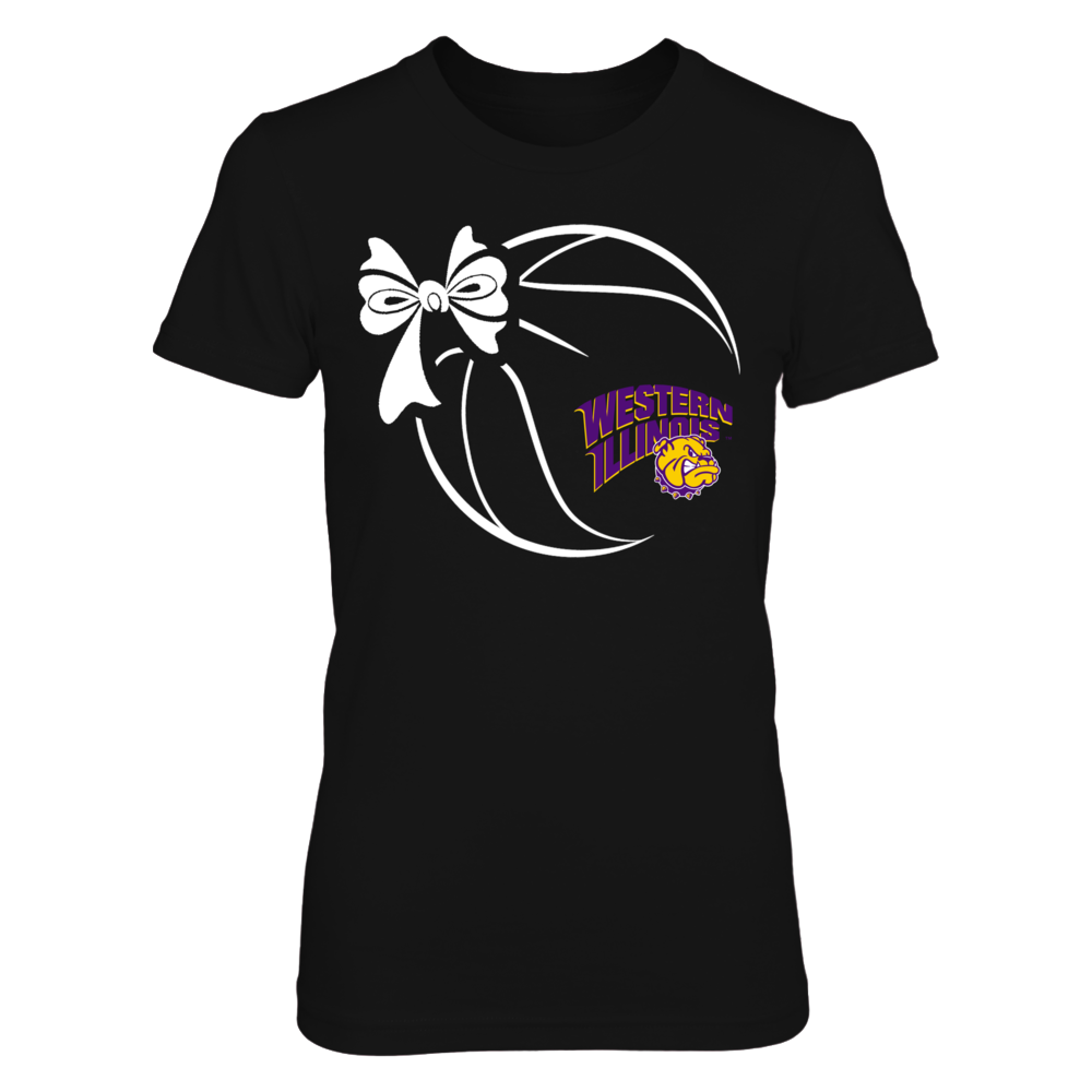 Western Illinois Leathernecks - Basketball Ribbon Front picture
