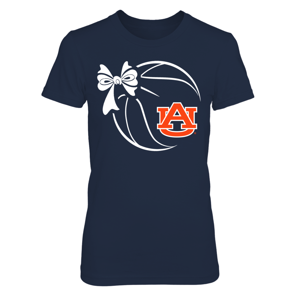 Auburn Tigers - Basketball Ribbon Front picture
