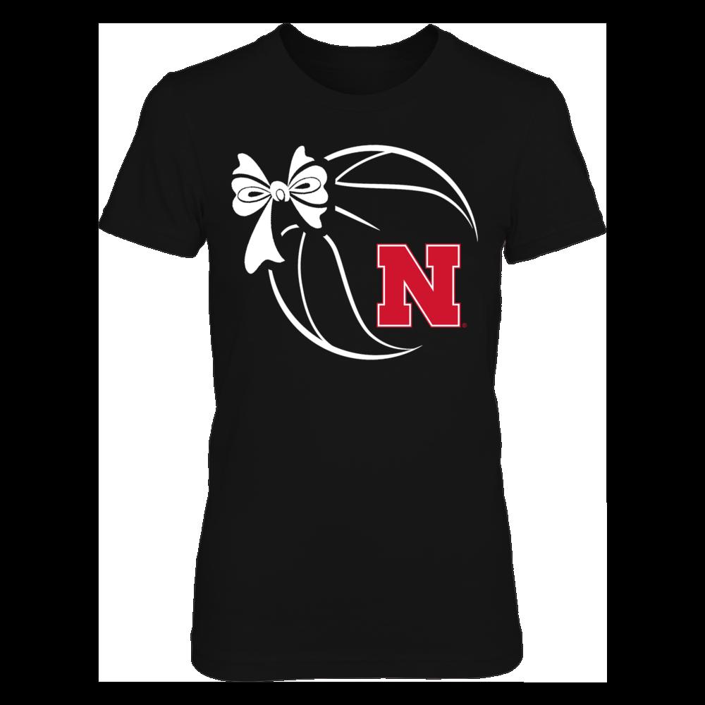 Nebraska Cornhuskers - Basketball Ribbon Front picture