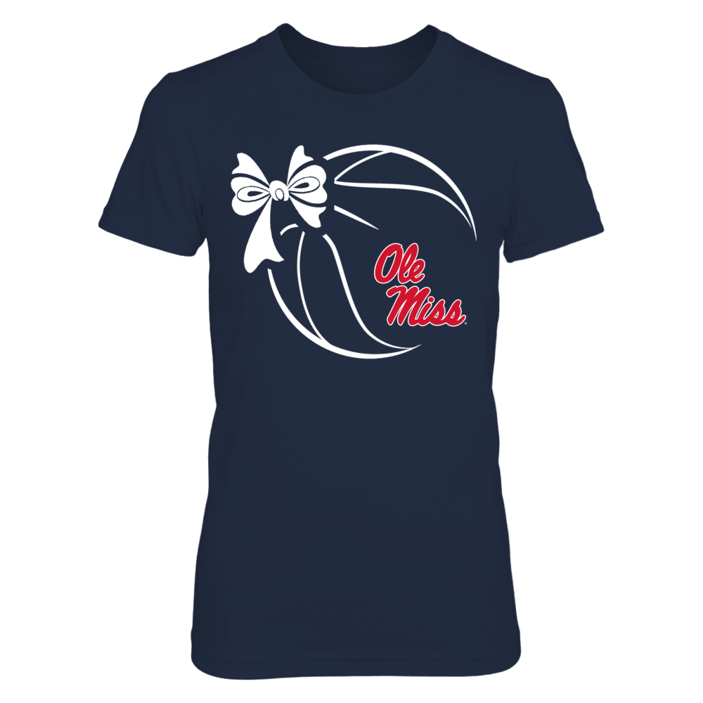 Ole Miss Rebels - Basketball Ribbon Front picture