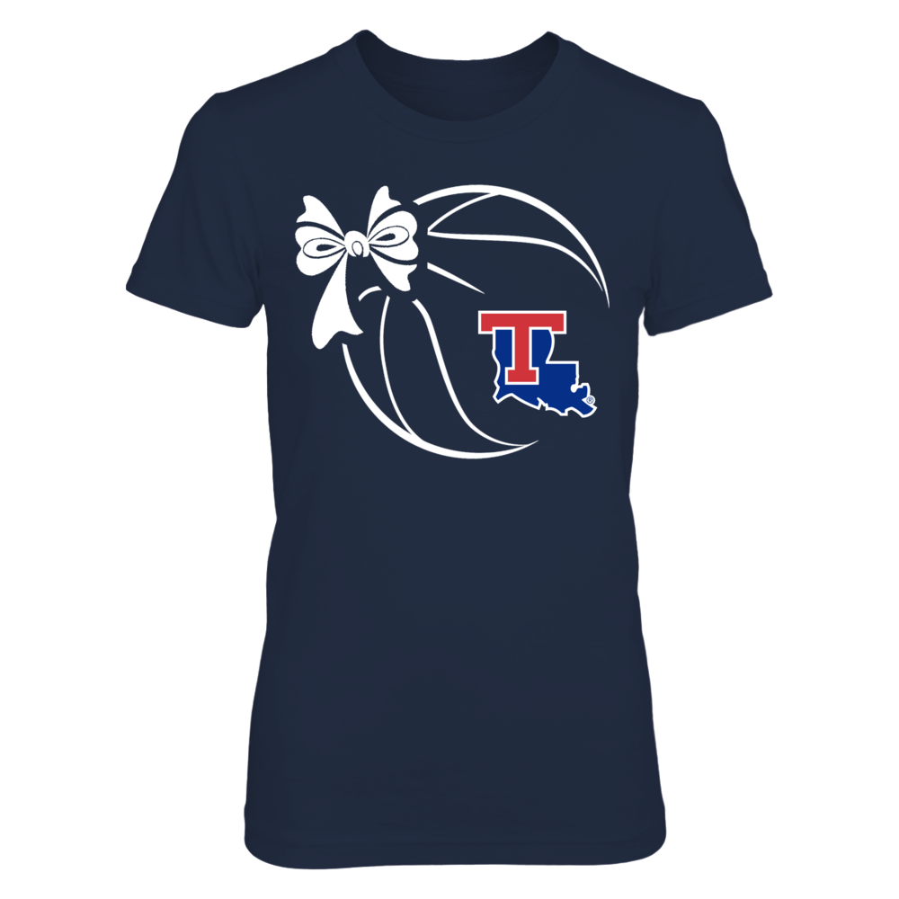 Louisiana Tech Bulldogs - Basketball Ribbon Front picture