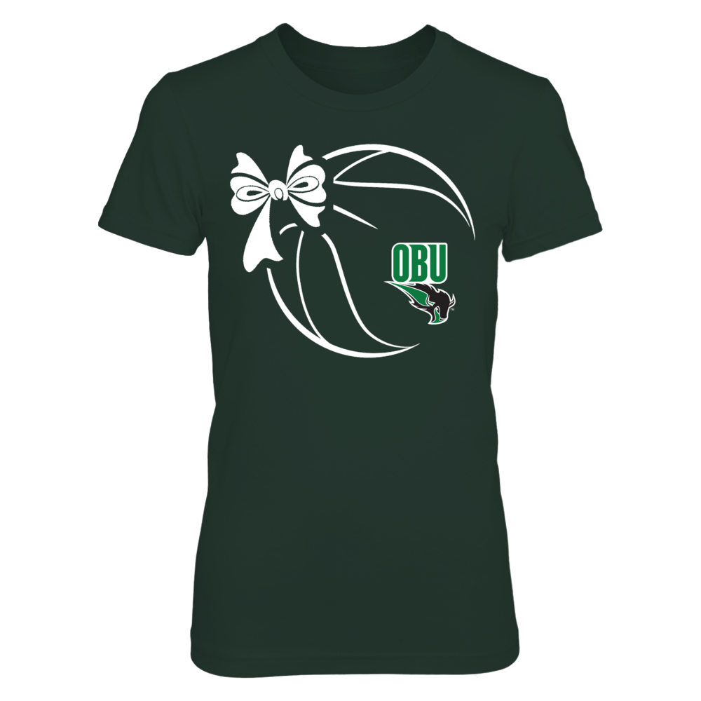 Oklahoma Baptist Bison - Basketball Ribbon Front picture