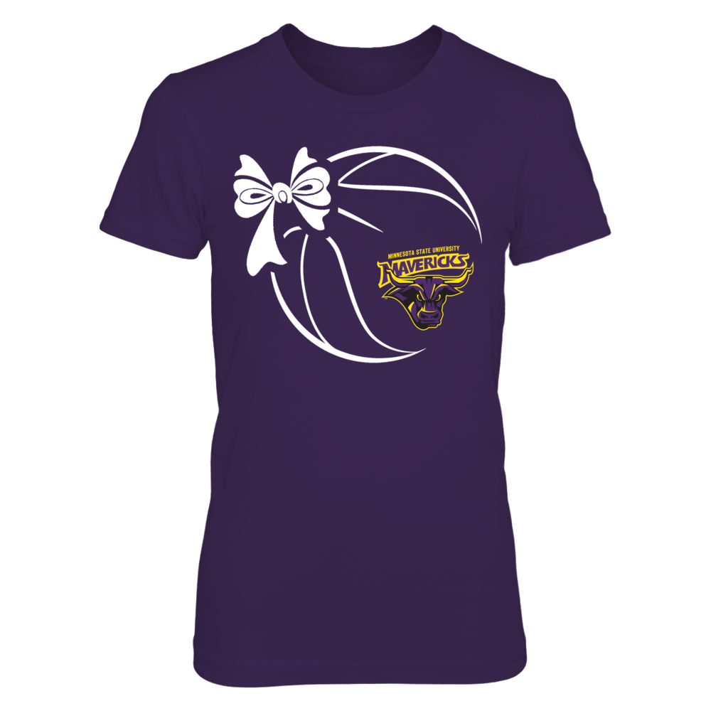 Minnesota State Mavericks - Basketball Ribbon Front picture