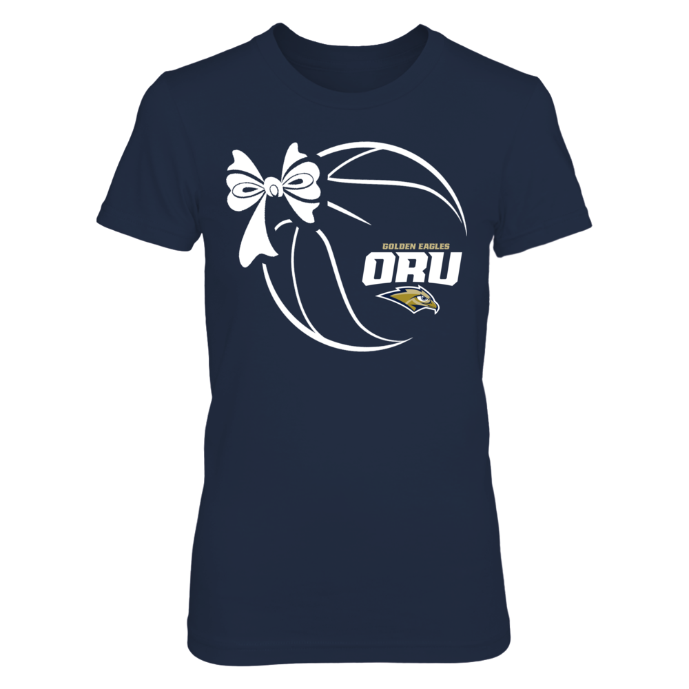 Oral Roberts Golden Eagles - Basketball Ribbon Front picture