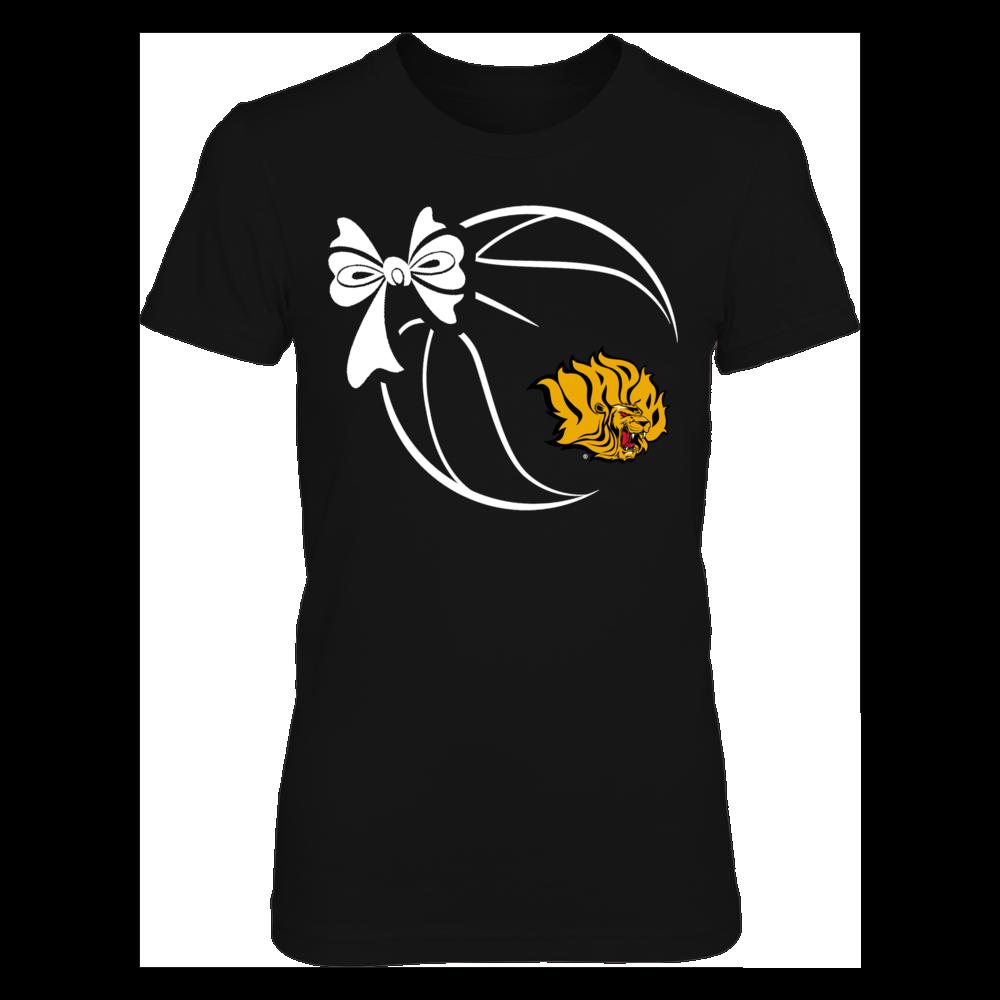 Arkansas Pine Bluff Golden Lions - Basketball Ribbon Front picture