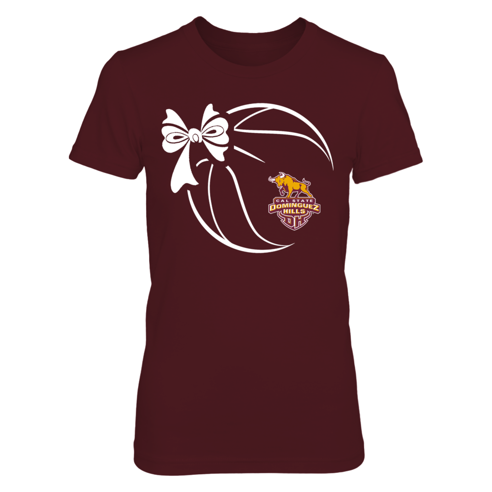 Cal State Dominguez Hills Toros - Basketball Ribbon Front picture