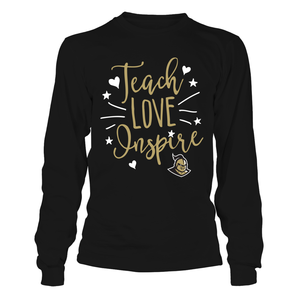 UCF Knights - Teacher - Teach Love Inspire - IF-IC13-DS75 Front picture