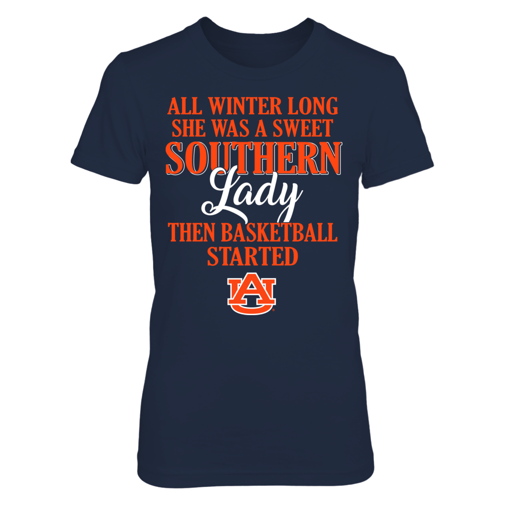 Auburn Tigers - All Winter Long She Was A Sweet Southern Lady Front picture