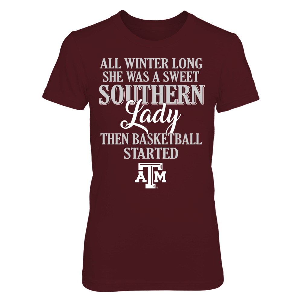 Texas A&M Aggies - All Winter Long She Was A Sweet Southern Lady Front picture