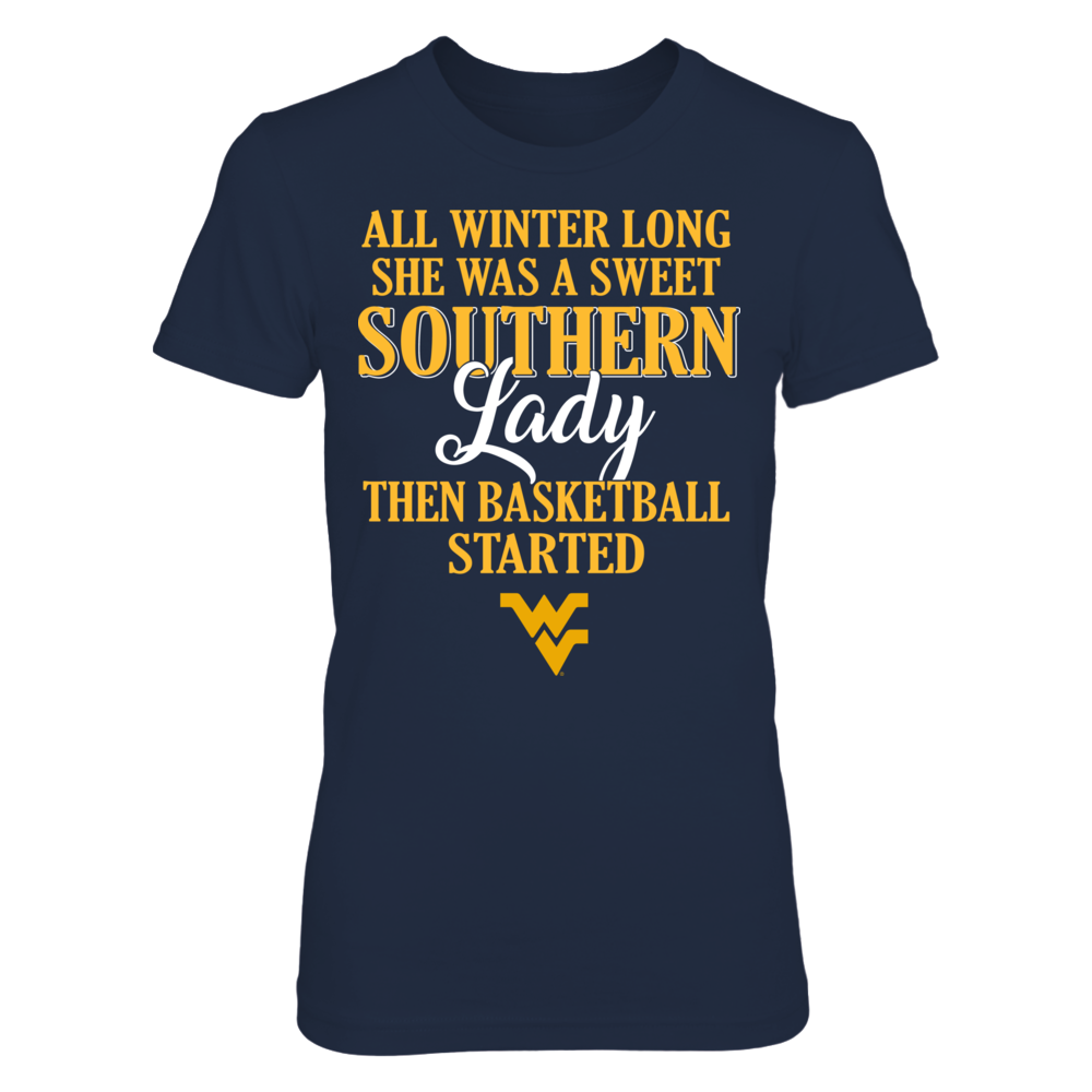West Virginia Mountaineers - All Winter Long She Was A Sweet Southern Lady Front picture