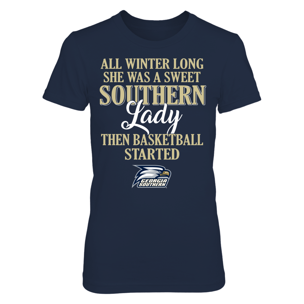 Georgia Southern Eagles - All Winter Long She Was A Sweet Southern Lady Front picture