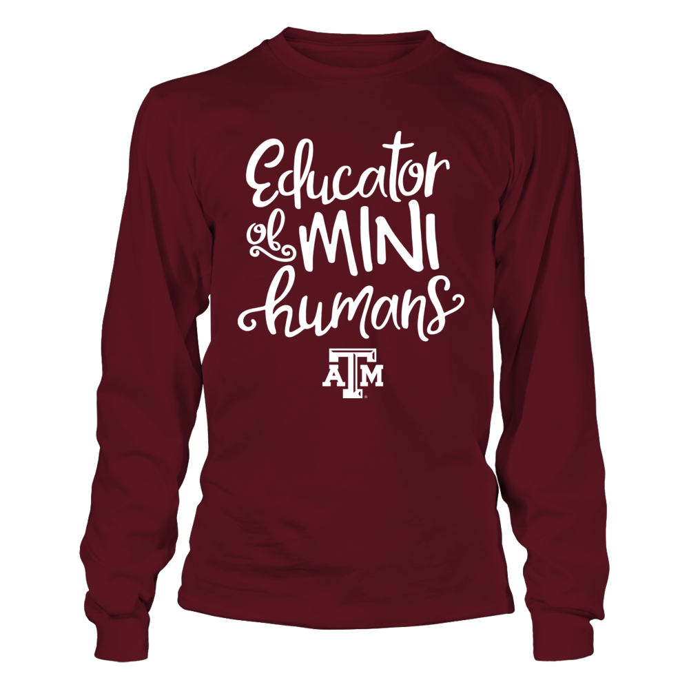 Texas A&M Aggies - Teacher - Educator of Mini Human Front picture
