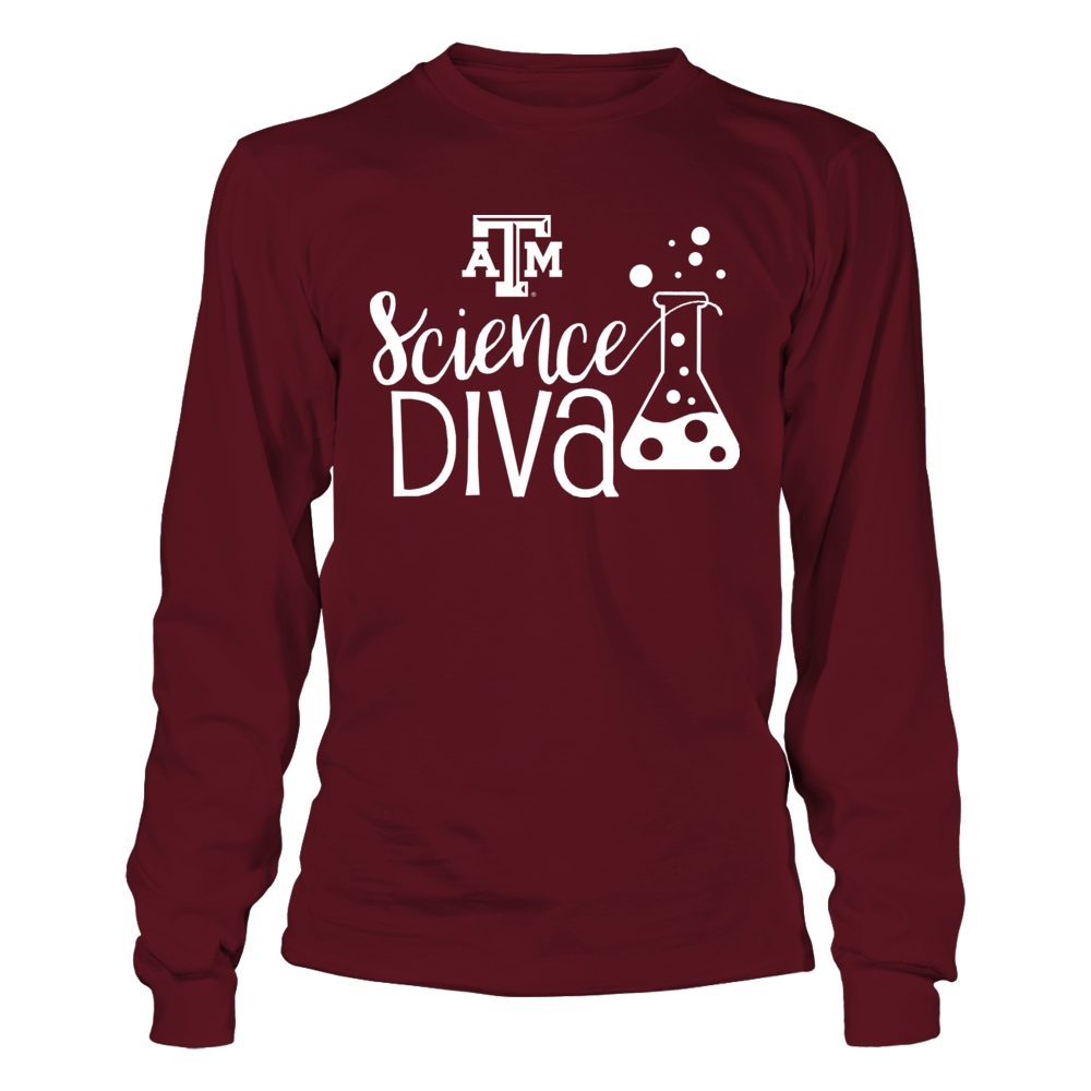 Texas A&M Aggies - Scientist - Science DIVA Front picture