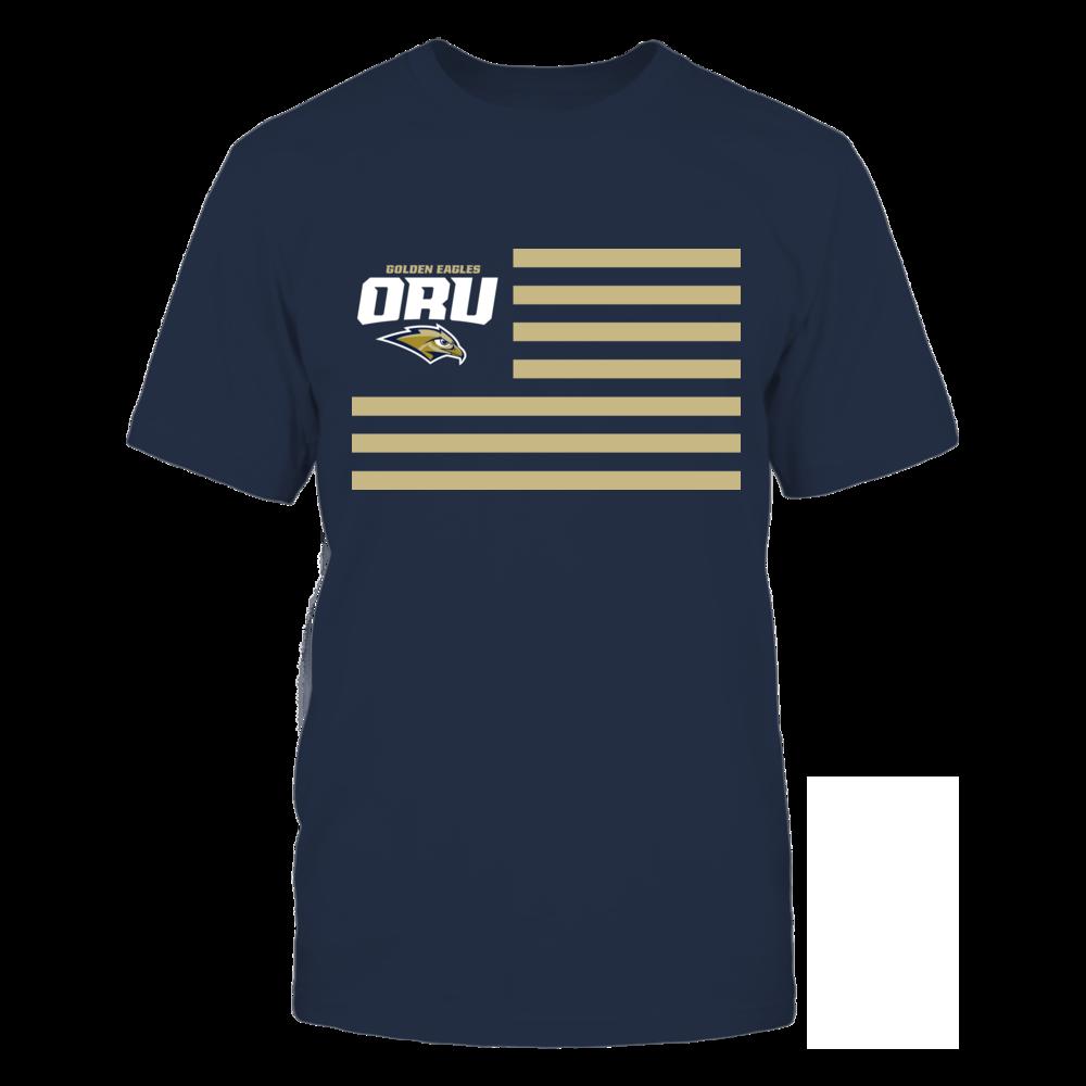 Oral Roberts Golden Eagles & Stripes Front picture