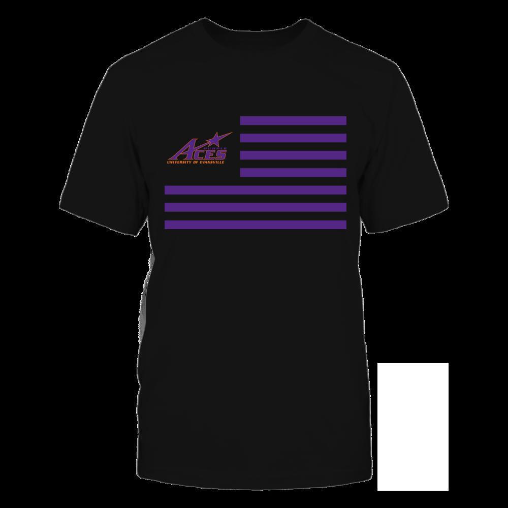 Evansville Purple Aces & Stripes Front picture