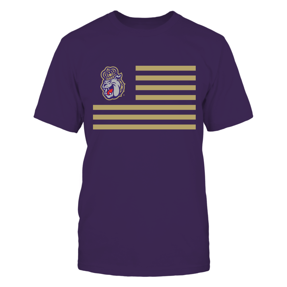 James Madison Dukes & Stripes Front picture