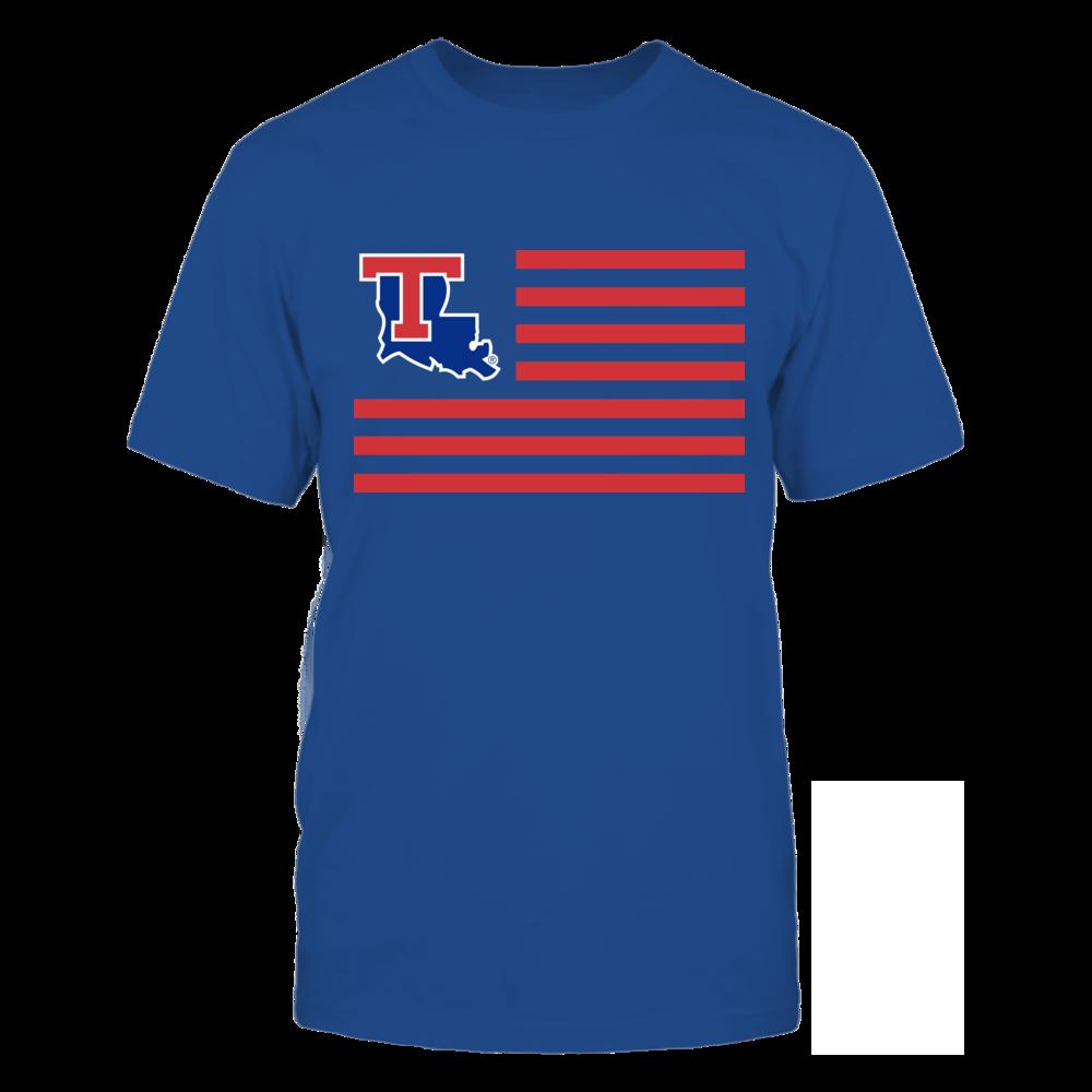Louisiana Tech Bulldogs & Stripes Front picture