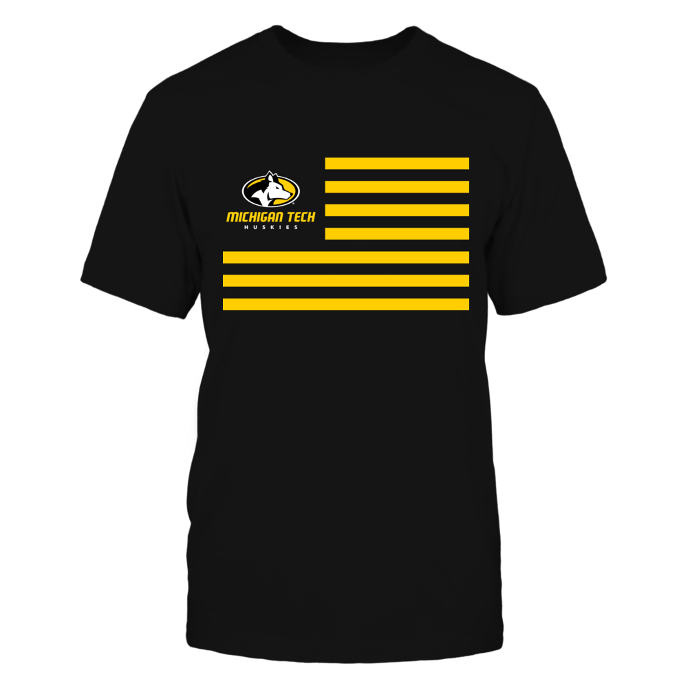 Michigan Tech Huskies & Stripes Front picture