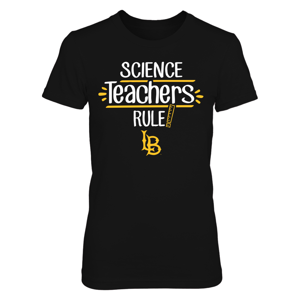 Long Beach State 49ers - Science Teachers Rule Front picture