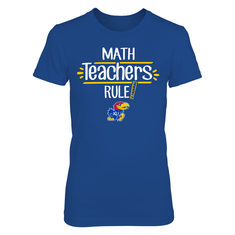 Kansas Jayhawks  - Math Teachers Rule Front picture