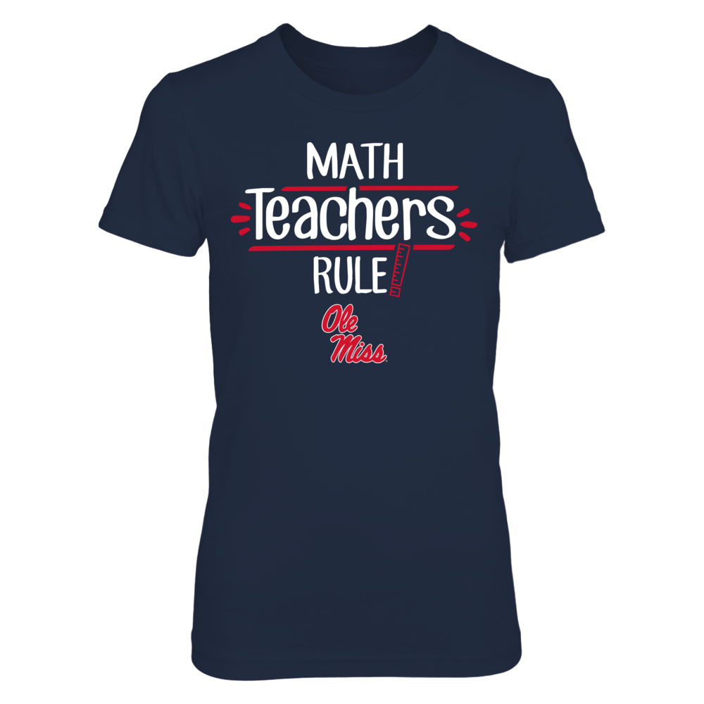 Ole Miss Rebels - Math Teachers Rule Front picture