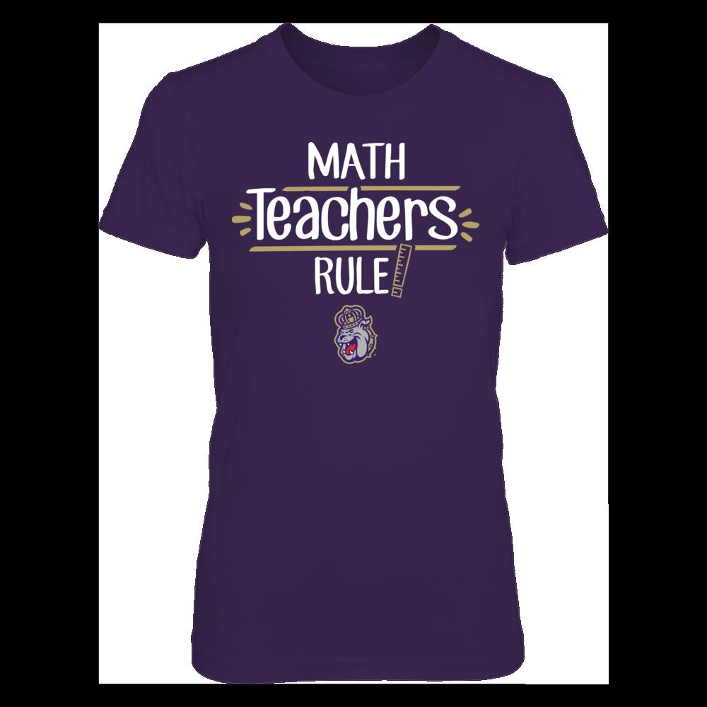 James Madison Dukes - Math Teachers Rule Front picture