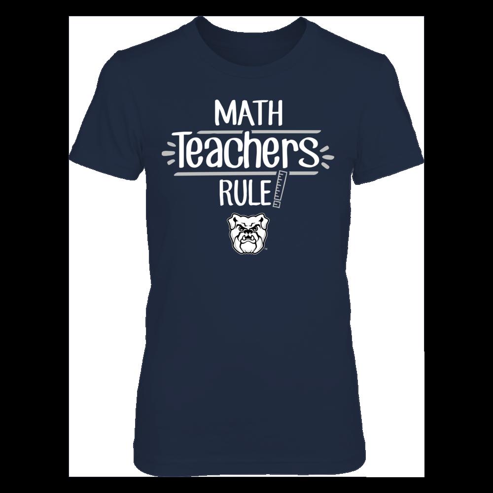 Butler Bulldogs  - Math Teachers Rule Front picture