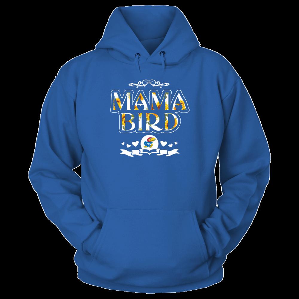 Kansas Jayhawks - Mama Mascot - Sunflower Pattern Front picture