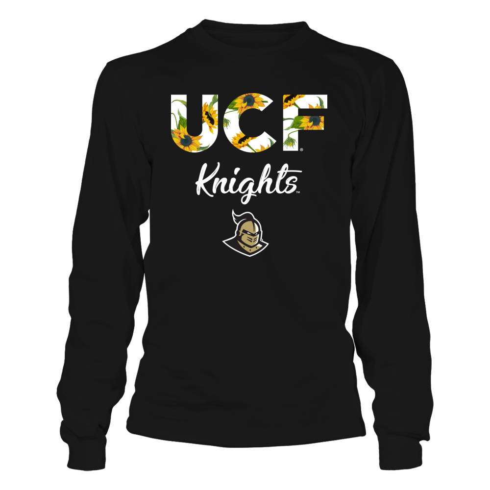 UCF Knights - Sunflower Patterned Letters Front picture