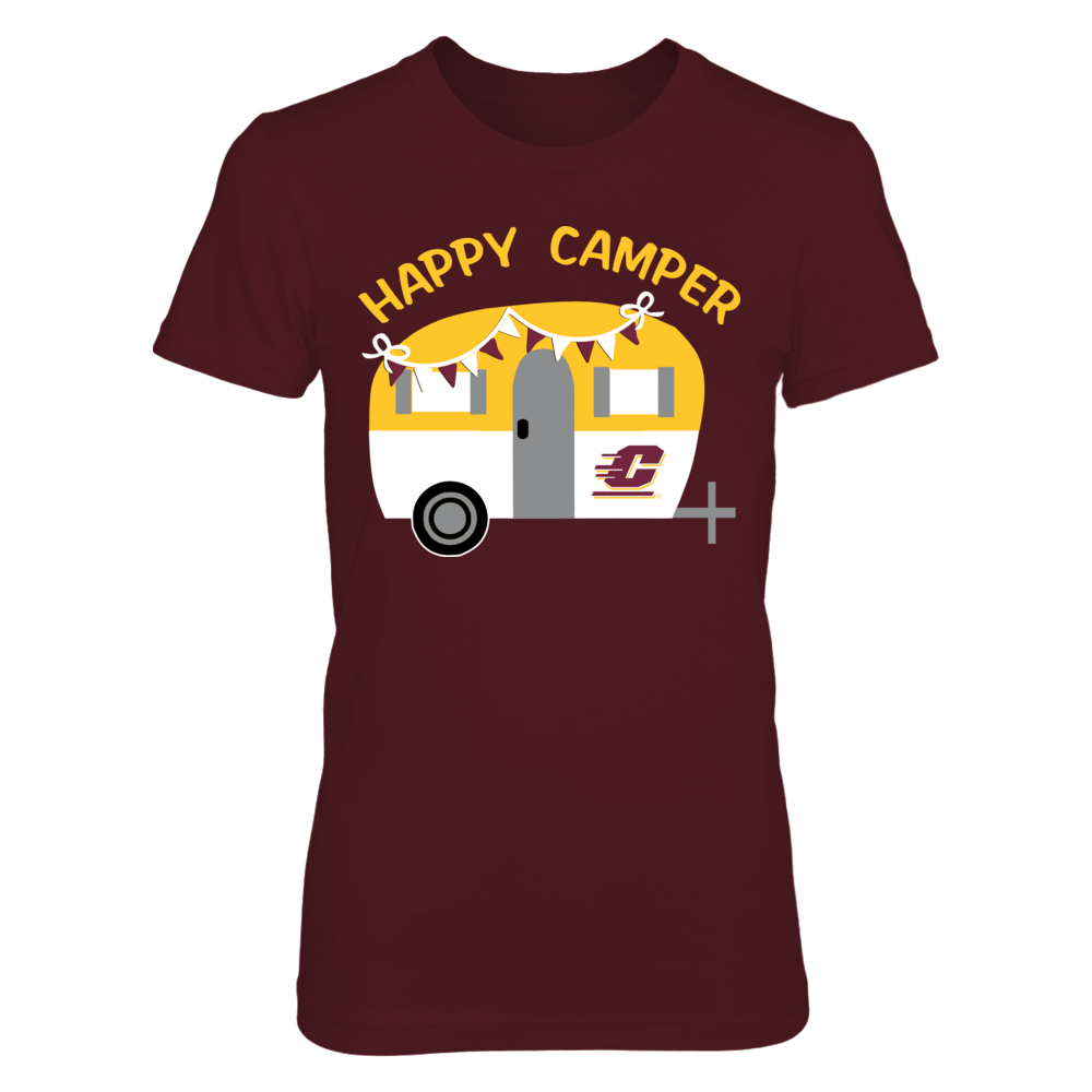 Central Michigan Chippewas - Vintage Camper Front picture