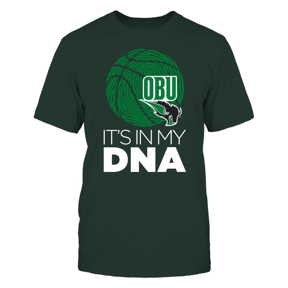 Oklahoma Baptist Bison - Basketball - It's in my DNA Front picture
