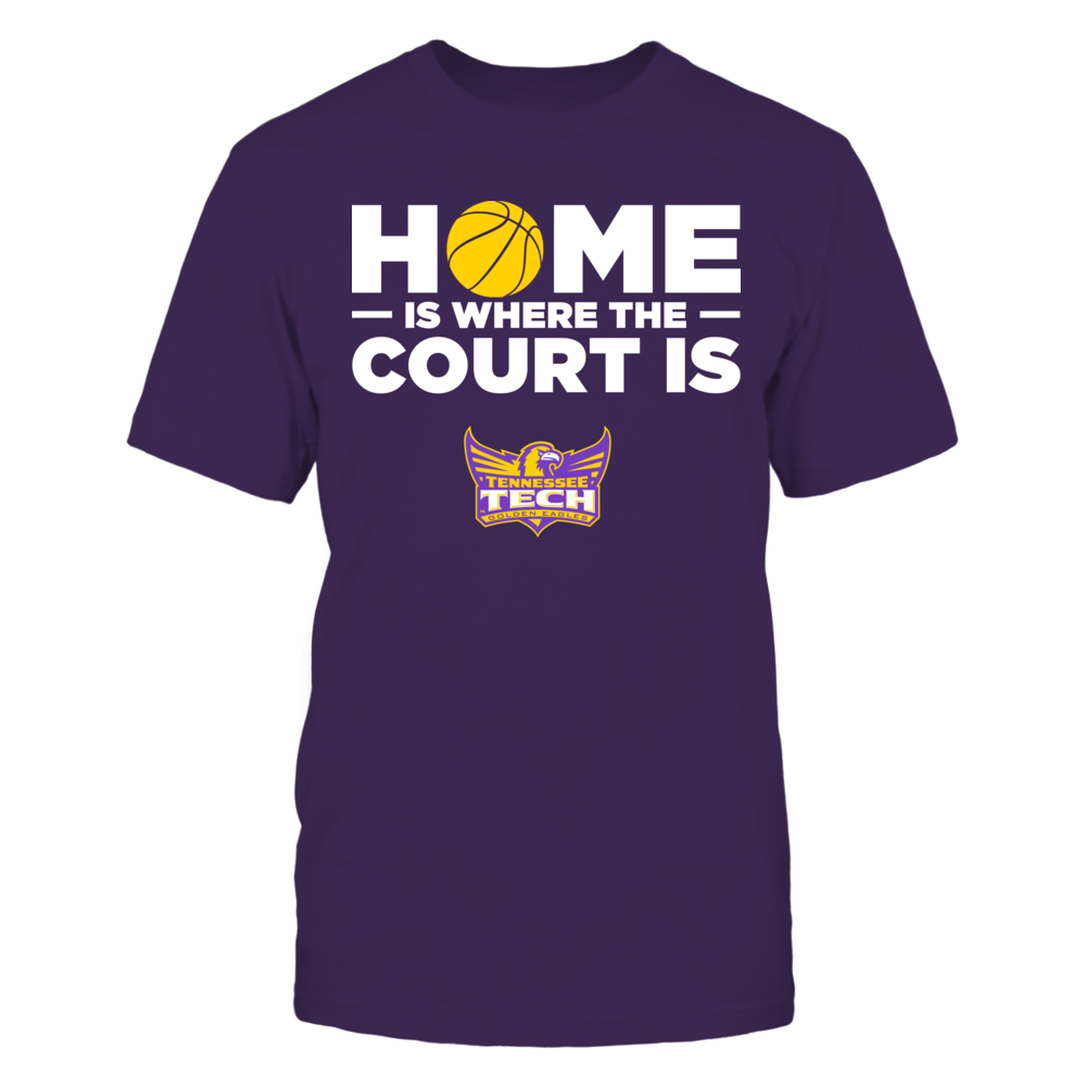 Tennessee Tech Golden Eagles - Home Is Where The Court Is Front picture