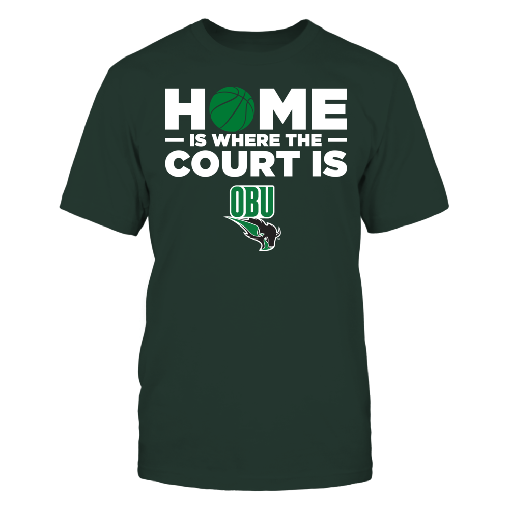 Oklahoma Baptist Bison - Home Is Where The Court Is Front picture