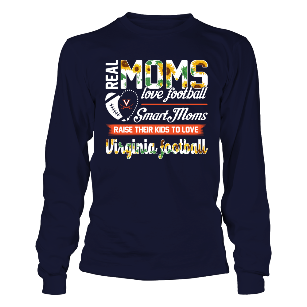 Virginia Cavaliers - Real Moms Love Basketball Front picture