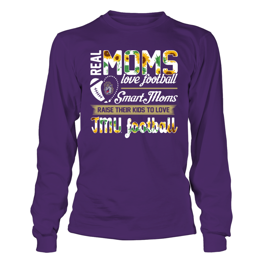James Madison Dukes - Real Moms Love Basketball Front picture