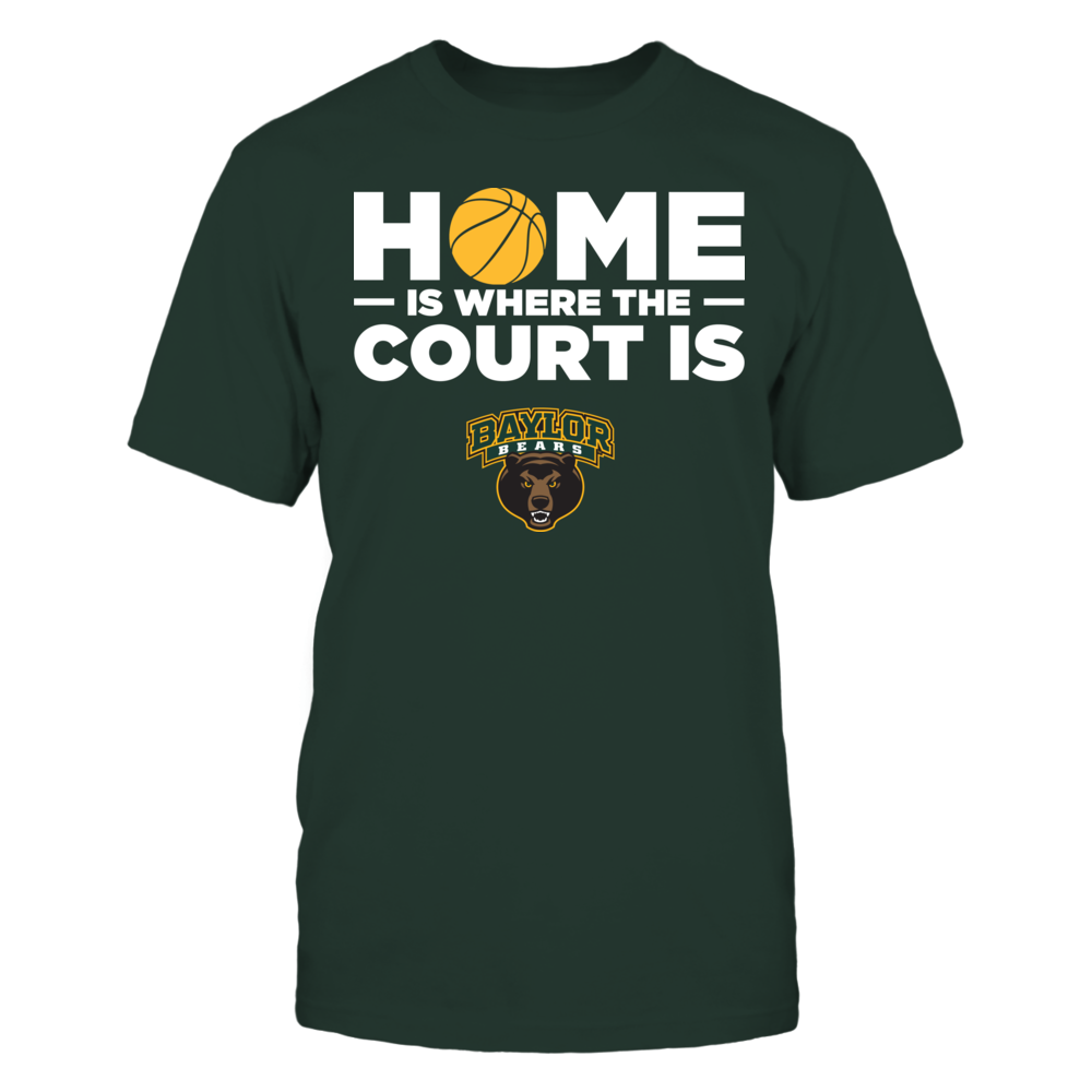 Baylor Bears - Home Is Where The Court Is Front picture