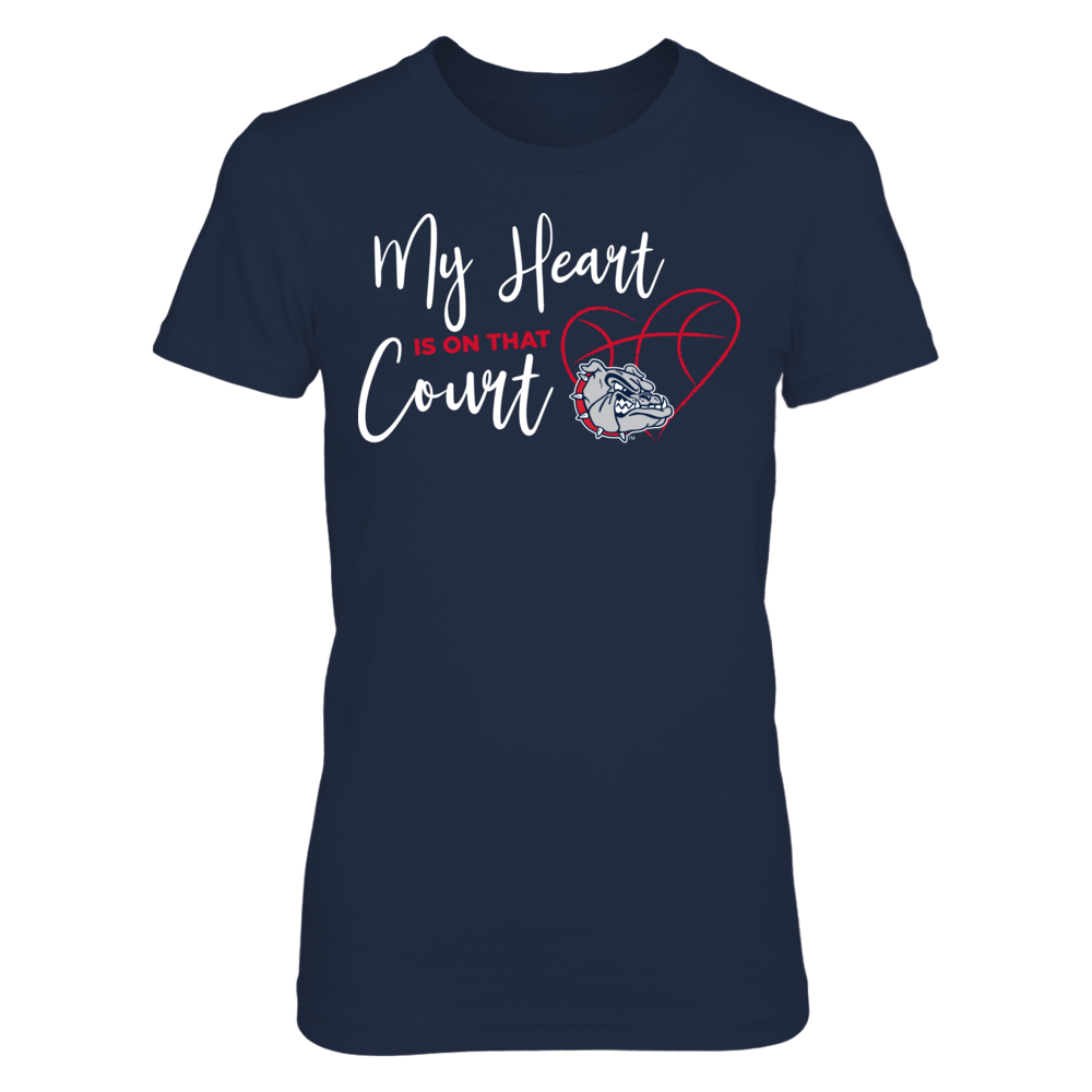 Gonzaga Bulldogs - My Heart Is On That Court Front picture