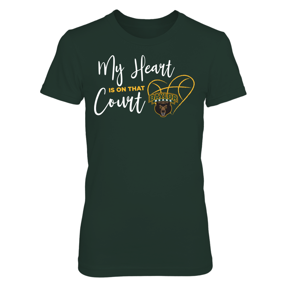 Baylor Bears - My Heart Is On That Court Front picture