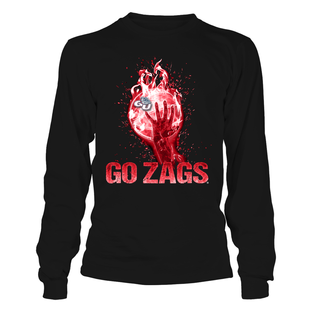 Gonzaga Bulldogs - Fire Rising Basketball Front picture