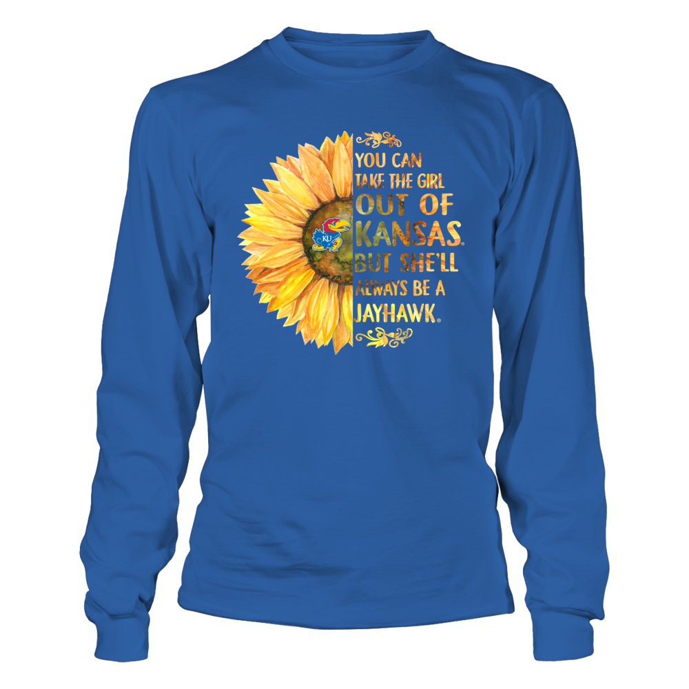 Kansas Jayhawks - Half Sunflower - Take The Girl Out Front picture