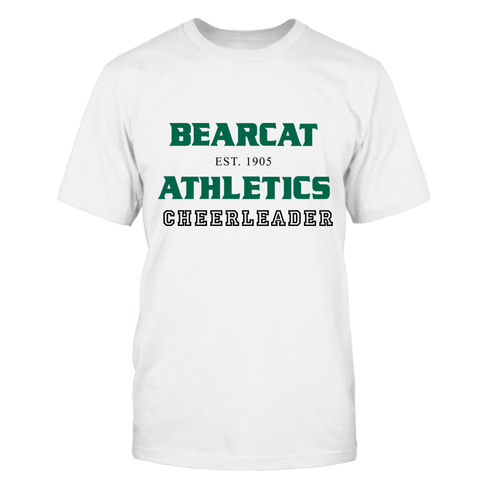 BEARCAT ATHLETICS EST. 1905 CHEERLEADER Front picture