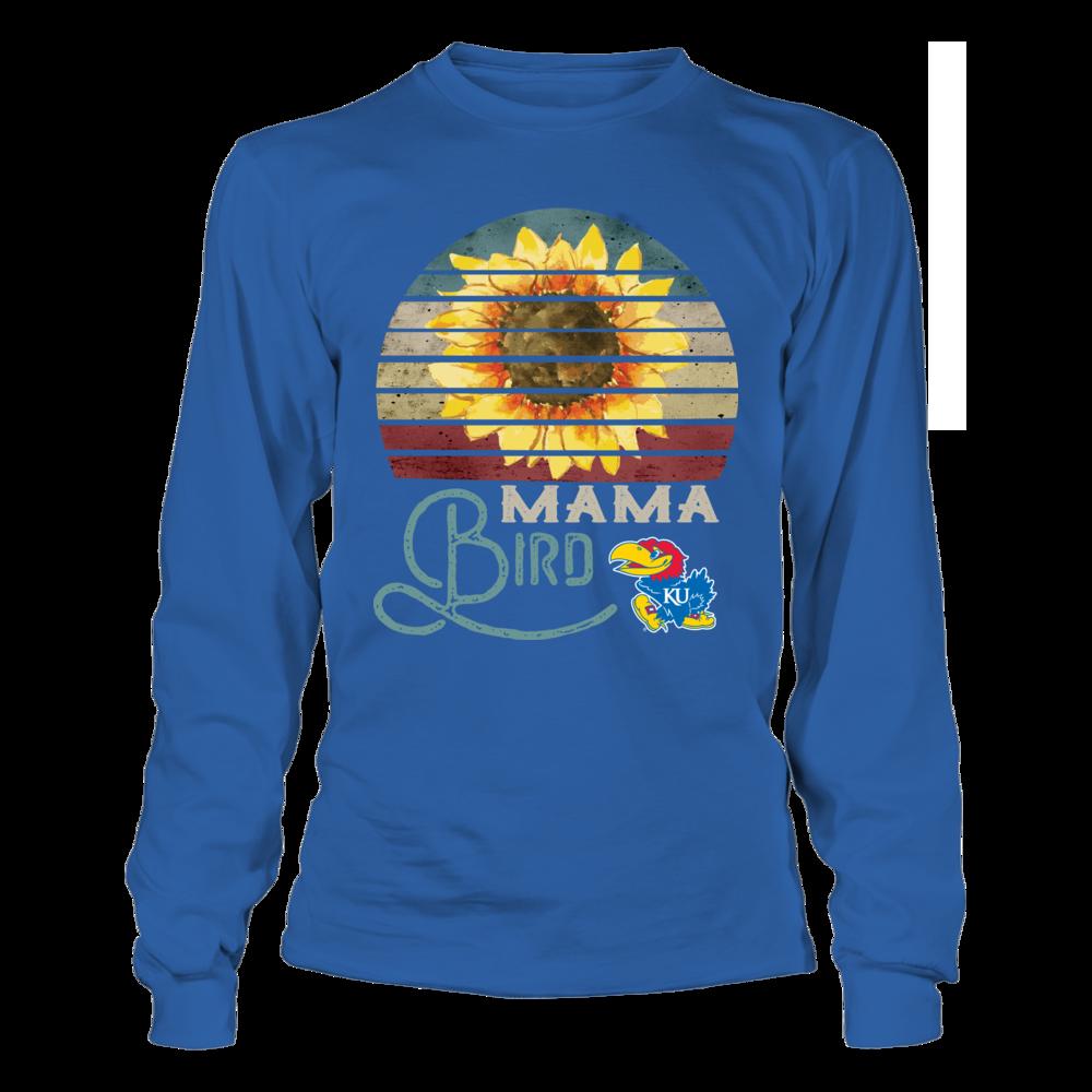 Kansas Jayhawks - Mama Mascot - Vintage Style Front picture